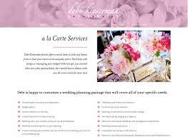 Wedding Day Planner Brian Kay Designs Web Design Wedding Planner