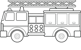 fire truck coloring pages toddlers pictures engine