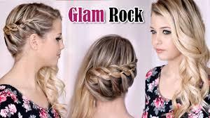french 4 strand braid hair tutorial wedding party half up half