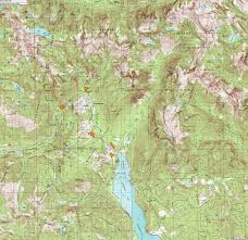 Topo Map Turns All Year Snoqualmie Pass Clickable Topographic Map