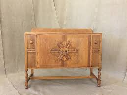 art deco sideboard receives full service furniture repair in seattle