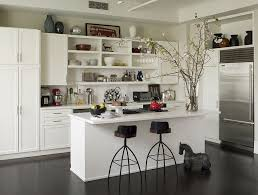 kitchen wall shelves white colors for tool and equipment kitchen