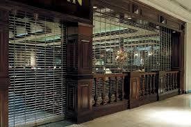 Overhead Security Door Upward Coiling Security Grilles Models 671