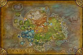 World Of Warcraft Map Beasts Of Fable And Pandaren Spirits Map Traveling The Multiverse