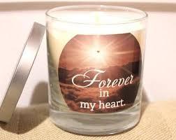 condolence gift sympathy candle etsy