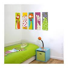 tableaux chambre enfant tableau tête d écureuil déco chambre bébé enfant série golo