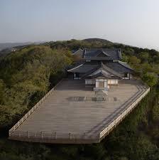 kou an glass tea house in kyoto prefecture japan by tokujin