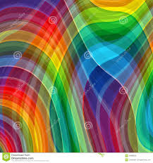 abstract rainbow color drawing plaid background stock vector