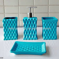 aqua colored bathroom accessories unique best aqua bathroom decor