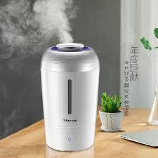 humidificateur de bureau ours jsq a40h1 purification de l air humidificateur bureau à