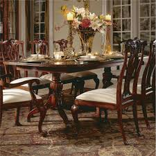 american drew 792 744r cherry grove 45th pedestal dining table in