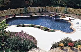 freeform pool designs free form pools blue haven custom swimming pool and spa builders