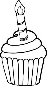 birthday cupcakes coloring pages printable happy birthday cupcake