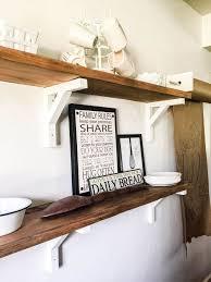 dining room wall shelves how i built reclaimed wood shelves hometalk