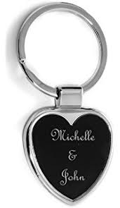personalized keychain gifts personalized silver black oval keychain free