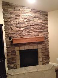 redo stone fireplace brick fireplace remodel before and after