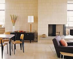 gorgeous sears electric fireplace in living room midcentury with