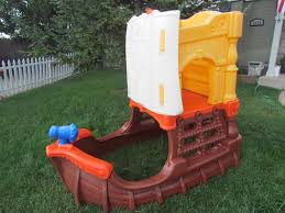 little tikes pirate ship climber playhouse p u denver playhouses