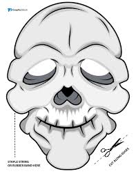 free vintage phantom opera cut printable mask free