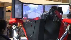 very awesome hydraulic driving simulator youtube