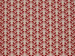 iliv scandi birds scarlet fabric iliv fabric