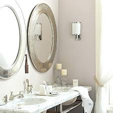 Oval Bathroom Mirrors Brushed Nickel Oval Bathroom Mirror Brushed Nickel Casual Vanity Decor Single X S