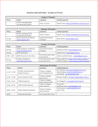 trip planner template 6 event schedule template bookletemplate org event itinerary template new calendar template site