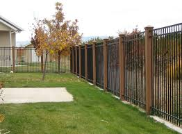 wrought iron fence panels lowes u2014 bitdigest design installing