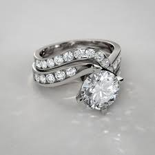 wedding sets on sale twist diamond wedding set in 14k white gold