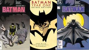 batman year one graphic detail batman year one deluxe edition hardcover