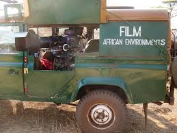 african jeep filming camps african environments
