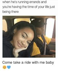 Running Baby Meme - when he s running errands and you re having the time of your life