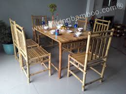 Rattan Dining Room Furniture by Best Bamboo Dining Room Chairs Photos Rugoingmyway Us