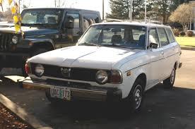 classic subaru wagon old parked cars 1978 subaru gl