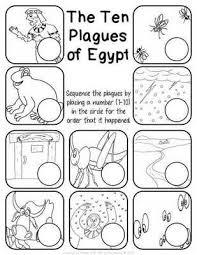 the ten plagues of egypt worksheet pack children u0027s church