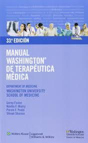 manual washington de terapéutica médica amazon es aa vv libros