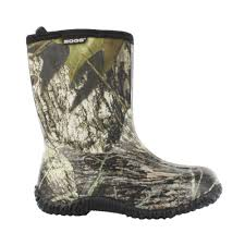 Rubber Home Depot by Bogs Classic Mid Camo Kids 9 In Size 11 Mossy Oak Rubber With