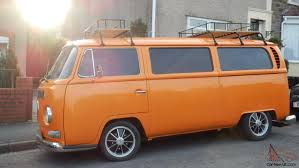 volkswagen orange orange vw camper van pictures vw camper van orange and white