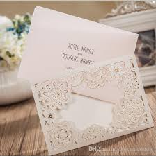 customized wedding invitations 2016 beautiful hollow floral custom wedding invitations cards