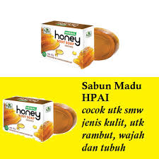 Sabun Honey Hpai jual sabun madu transparan herbal herbal honey soap hpai