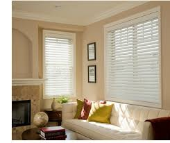 2 Faux Wood Blinds Norman Shutters Handcrafted Wood U0026 Composite Shutters