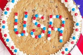 usa chocolate chunk cookie cake recipe by carolyn menyes