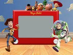 free toy story etch a sketch invite template birthday