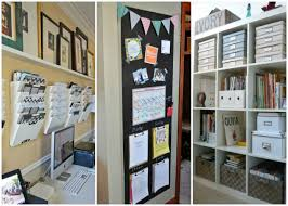 How To Organize Your Desk At Home For School 15 Ways To Organize Your Home Office By A Blissful Nest