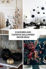small halloween ornaments 15 contemporary and tasteful halloween decor ideas shelterness