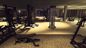 Home Gym Studio Design 3d Gym Design Walkthrough Youtube