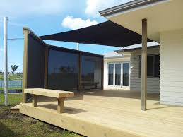 Outdoor Mesh Curtains Residential John Hewinson Canvas Whangarei