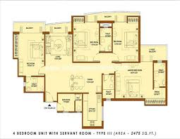 Cluster House Plans Luxury 4 Bedroom Apartment Floor Plans