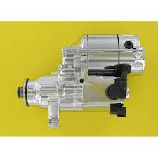 drag specialties chrome 1 4 kilowatt starter motor 2110 0248