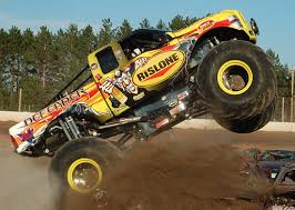 monster truck racing association father and son monster truck drivers take home hardware at awards
